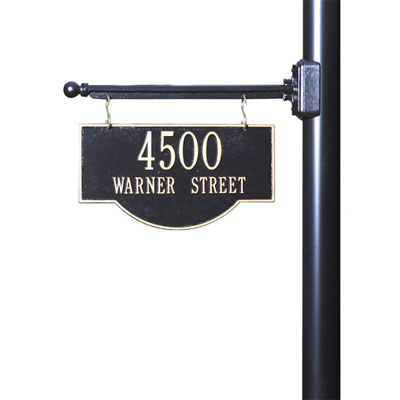 Lamp Post Signs Archives Mailbox Pe, Lamp Post Address Sign